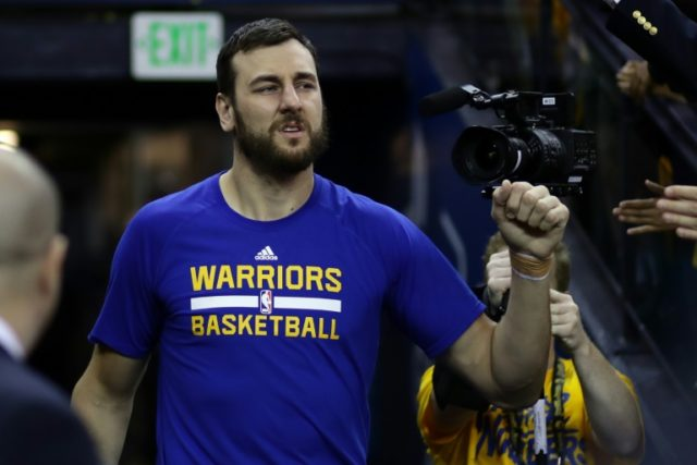 Australian center Andrew Bogut has been traded by the Golden State Warriors to the Dallas Mavericks