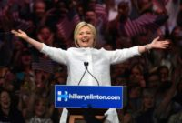 Hillary Clinton made history by becoming the first woman to win the presidential nomination of a major US political party, securing the backing of Democrats at a rowdy convention in Philadelphia