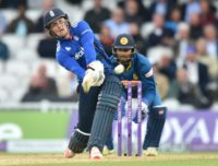 England's Jason Roy fell five agonising runs short of Robin Smith's 23-year record 167, which he made against Australia at Edgbaston