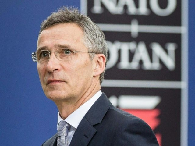 NATO chief Jens Stoltenberg arrives at the NATO summit in Warsaw, on July 9, 2016