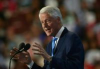 Former president Bill Clinton offered a tacit admission his wife Hillary was part of the political scenery and not always as flashy, or such a gifted orator, as other politicians