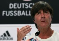 Germany's head coach Joachim Loew addresses a press conference at Germany's training grounds in Evian, on June 28, 2016