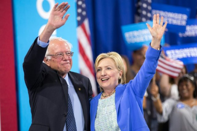 Bernie Sanders waged a feisty yearlong battle against Hillary Clinton in the Democratic primaries, before endorsing her on July 12, 2016