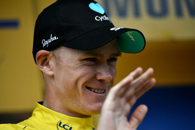 Great Britain's Christopher Froome has all but secured his third Tour de France after the 20th and penultimate stage on July 23, 2016