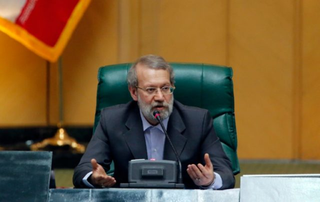 Iran's parliament speaker Ali Larijani says the West has failed to give Tehran sufficient recognition for its contribution to the fight against IS
