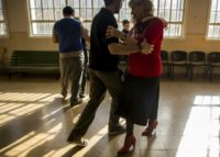 Patients at Borda, Argentina's biggest public men's psychiatric hospital, learn to tango with female volunteers