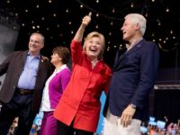 Hillary Clinton, Tim Kaine, Anne Holton, Bill Clinton