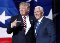 Mike Pence, Donald Trump