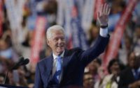 Bill Clinton presents Hillary as agent of change over lifetime of public service