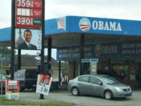 Armed Clerk Thwarts Robbery at 'Obama Gas Station'