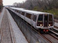 Washington Metro train leaving Union Station Monday, Dec. 8, 2014 in Washington, D.C. (