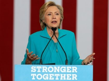 Thursday, Aug. 25, 2016 file photo, Democratic presidential candidate Hillary Clinton speaks at a campaign event at Truckee Meadows Community College in Reno, Nev. Clinton is rolling out a comprehensive plan to address millions of Americans coping with mental health illness. Clinton's campaign is releasing a multi-pronged approach to mental …