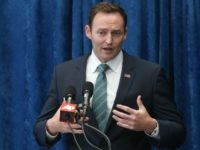 Rep. Patrick Murphy, D-Fla. speaks during a pre-legislative news conference, in Tallahassee, Fla. File