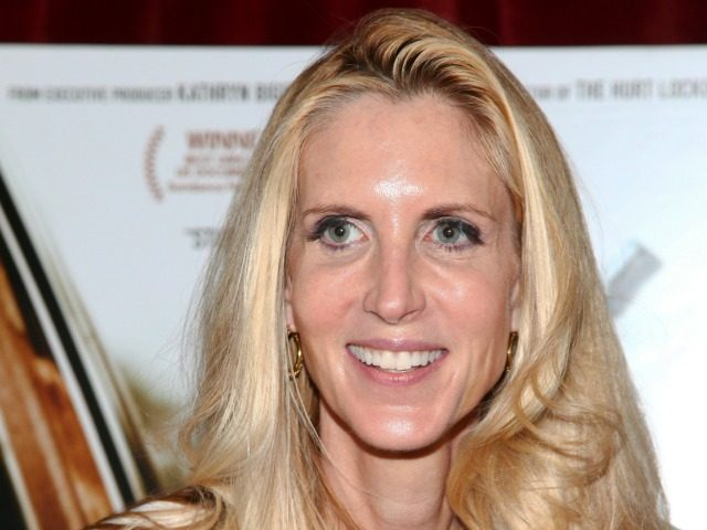 """Ann Coulter attends a special screening of """"Cartel Land"""" hosted by The Cinema Society at the Tribeca Grand on Thursday, June 25, 2015, in New York."""