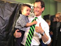 Report: Anthony Weiner Used His Son as a 'Chick Magnet'