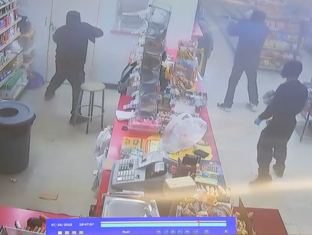 Armed Robbery in Texas