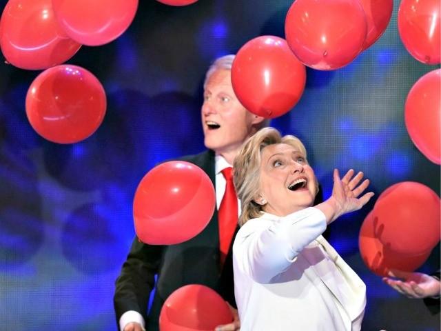 Trump Visits Louisiana, Hillary Goes to Bill's Birthday Party