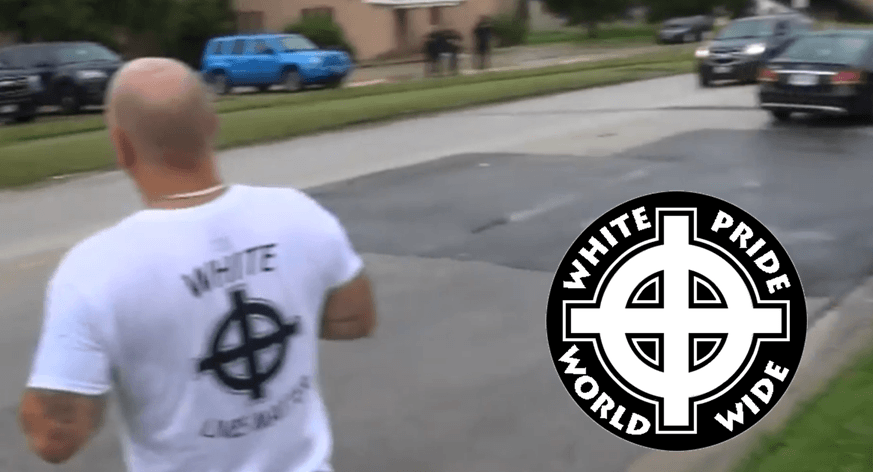 Celtic Cross T-Shirt Resembles White Pride Word Wide white supremacy symbol.
