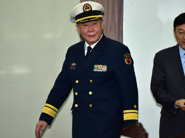 REPUBLIC OF KOREA, SEOUL : Rear Admiral Guan Youfei (C), director of Foreign Affairs Office of China's National Defence Ministry, arrives to attend annual working-level talks with South Korea at the Defence Ministry in Seoul on January 15, 2016. South Korean and Chinese defence officials met in Seoul on January …