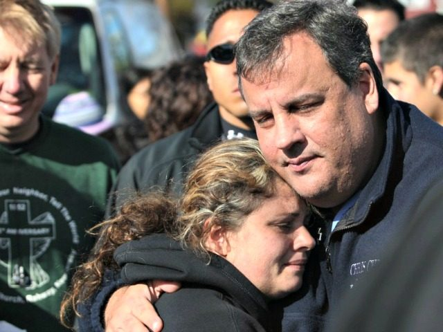 Chris Christie Hurricane Sandy AP