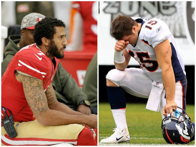 Colin-Kaepernick-Tim-Tebow-AP-Getty