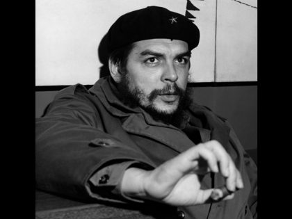 CUBA, LA HAVANA : Industry Minister of Cuba Ernesto Che Guevara poses in january 1965. AFP PHOTO