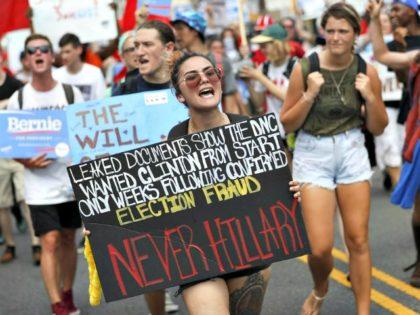DNC Hack Protest AP PhotoJohn Minchillo