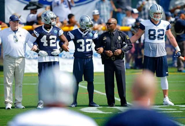 5a1f21745 NFL Denies Dallas Cowboys  Request to Honor Fallen Police with Helmet Decal