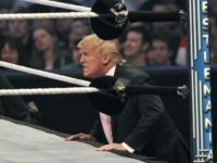 Donald Trump Wrestlemania (Bill Pugliano / Getty)