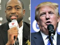 Trump Cites Shooting of Dwayne Wade's Cousin in Appeal to Black Americans