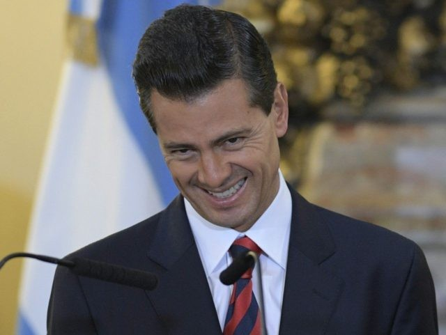 Enrique Pena Nieto (Juan Mabromata / AFP / Getty)