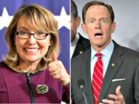 Gabby Giffords, Pat Toomey AP Photos