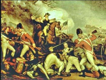 Geoge Washington Revolutionary War by John Trumbell 1795