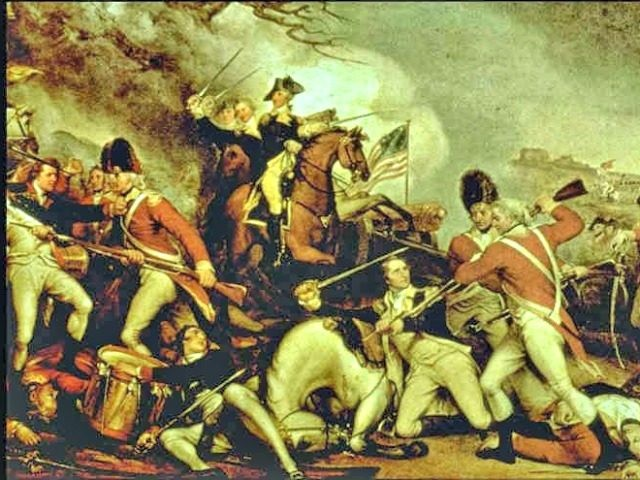 Geoge Washington Revolutionary War by John Trumbell 1795