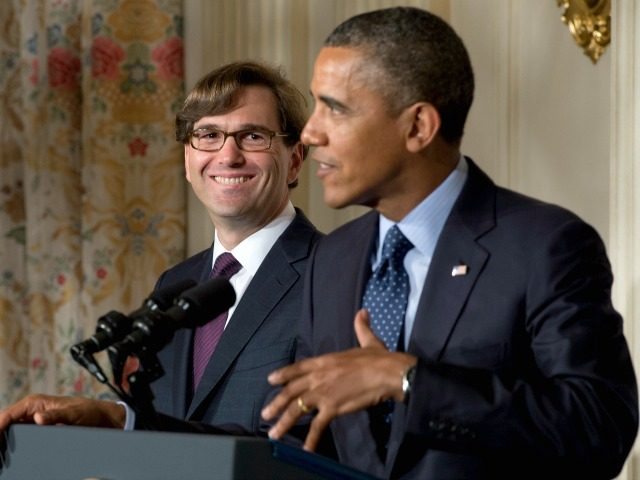 Jason Furman and Barack Obama