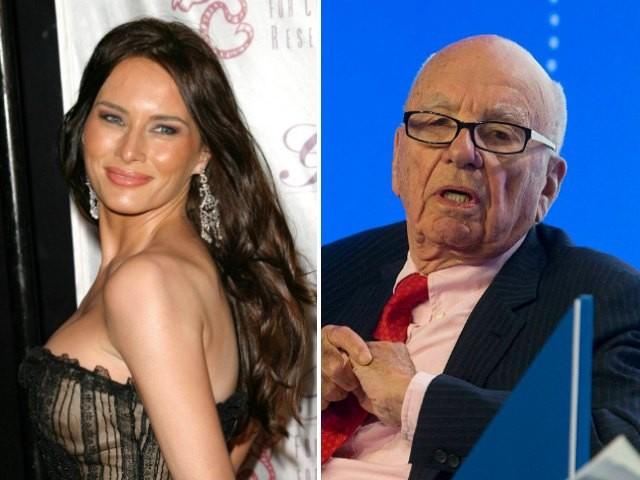 Rupert Murdoch At War Nude Melania Trump On Nypost 2X In A Row-6199