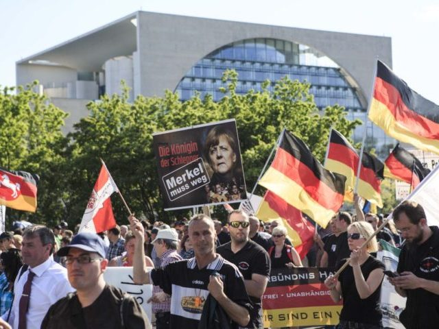 Neo-Nazis March In Berlin