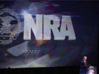 LOUISVILLE, KY - MAY 20:  Republican presidential candidate Donald Trump speaks at the National Rifle Association's NRA-ILA Leadership Forum during the NRA Convention at the Kentucky Exposition Center on May 20, 2016 in Louisville, Kentucky. The NRA endorsed Trump at the convention. The convention runs May 22.  (Photo by )