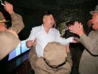 North Korea: Kim Jong-Un Celebrates Ballistic Missile Test with 'Mass Dancing'