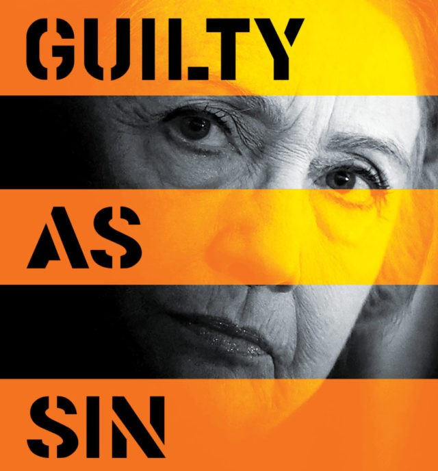 Exclusive: Edward Klein Unveils Artwork for Upcoming Book 'Guilty as Sin'