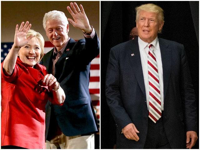 Hillary-Bill-Clinton-Donald-Trump-Getty