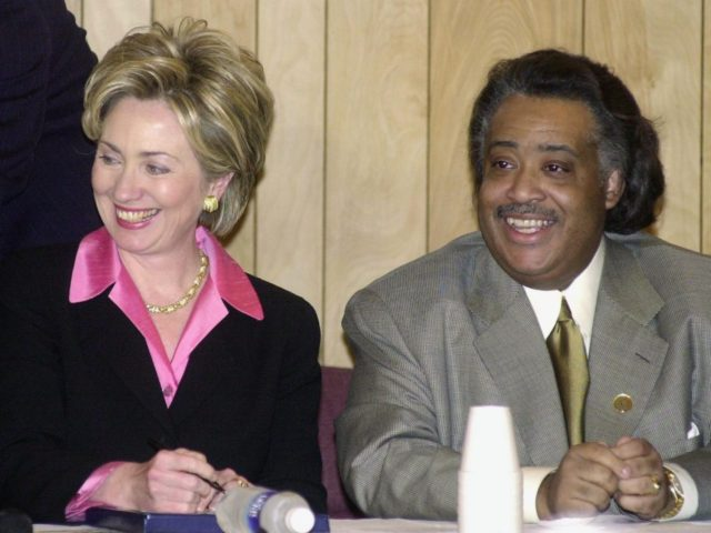 Hillary Clinton and Al Sharpton (Getty)