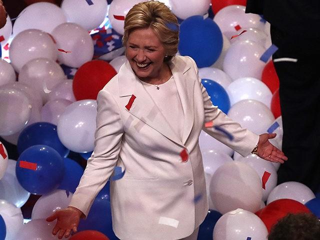 Hillary-Clinton-balloons-DNC-Getty
