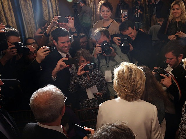 Hillary-Clinton-media-scrum-Getty