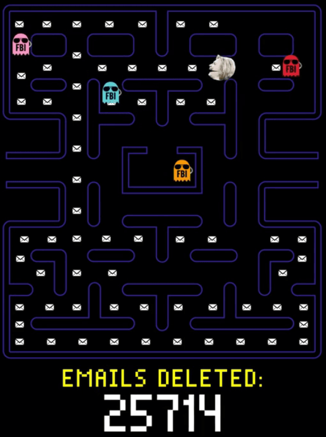 Hillary Pacman 1