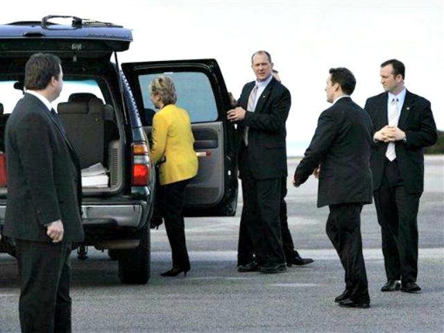 Hillary Security AP PhotoElise Amendola