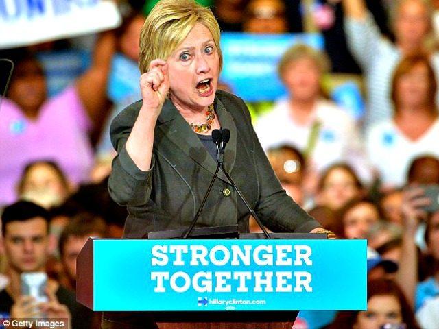 Hillary Speaks Getty