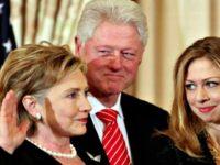 Hillary Swear In, Bill, Chelsea YouTube