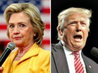 Hillary Wary, Trump Barking AP Photos