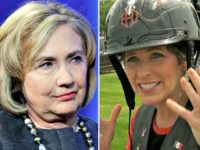 Hillary and Joni Ernst AP Photos